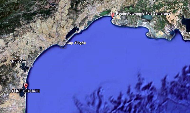 Cotweb m t o port camargue - Meteo marine de cerbere a port camargue ...
